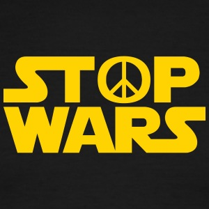 Stop Wars - Men's Ringer T-Shirt