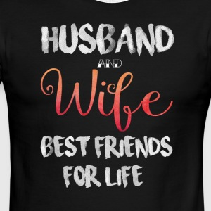 Husband And Wife Best Friend For Life T Shirt - Men's Ringer T-Shirt