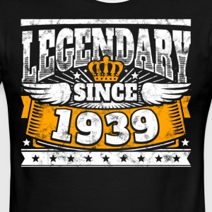 Legend Birthday: Legendary since 1939 birth year - Men's Ringer T-Shirt