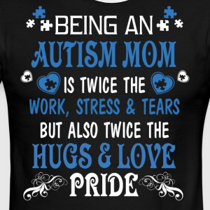 Being An Autism Mom T Shirt - Men's Ringer T-Shirt
