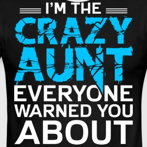 I'm The Crazy Aunt T Shirt - Men's Ringer T-Shirt