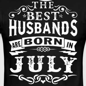 The best husbands are born in July - Men's Ringer T-Shirt