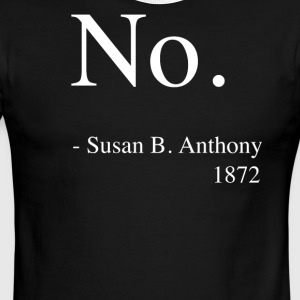 Susan B. Anthony No Quote Shirt, Women's History - Men's Ringer T-Shirt