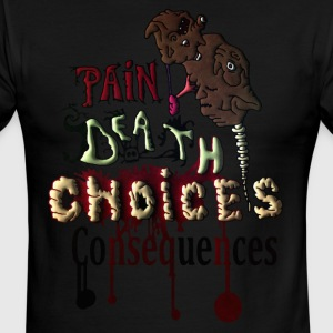 Consequences - Men's Ringer T-Shirt