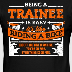 Trainee Shirt: Being A Trainee Is Easy - Men's Ringer T-Shirt