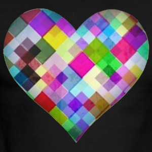Dazzle Heart a Perfect Gift - Men's Ringer T-Shirt