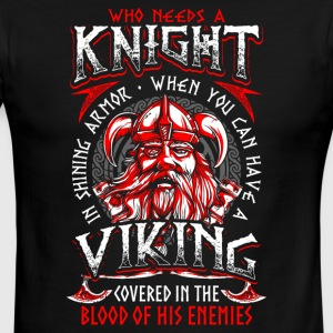 Who needs a Knight Viking - Men's Ringer T-Shirt