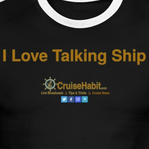 I love talking ship! - Men's Ringer T-Shirt