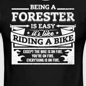 Forester Shirt: Being A Forester Is Easy - Men's Ringer T-Shirt