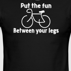 Put The Fun Between Your Legs - Men's Ringer T-Shirt