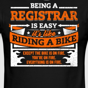 Registrar Shirt: Being A Registrar Is Easy - Men's Ringer T-Shirt