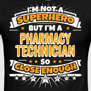 Not A Superhero But A Pharmacy Technician - Men's Ringer T-Shirt