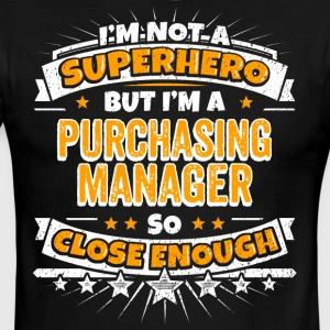 Not A Superhero But A Purchasing Manager - Men's Ringer T-Shirt