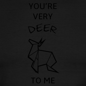 You're very DEER to me - Men's Ringer T-Shirt