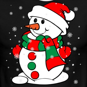 Snowman - Men's Ringer T-Shirt