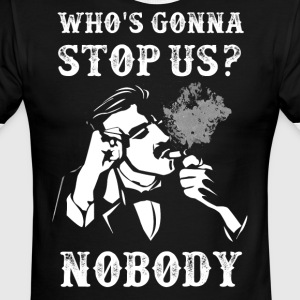 Peaky Blinders Quotes. Who's gonna stop us? - Men's Ringer T-Shirt
