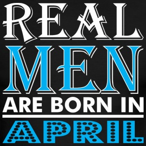 Real Men Are Born In April - Men's Ringer T-Shirt