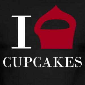 I love CUPCAKES - Men's Ringer T-Shirt