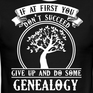 Genealogy Tee Shirt - Men's Ringer T-Shirt
