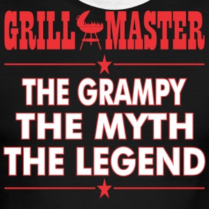 Grillmaster The Grampy The Myth The Legend BBQ - Men's Ringer T-Shirt