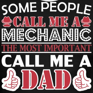 Some People Mechanic Most Important Dad - Men's Ringer T-Shirt