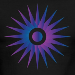 Hot Purple Sun - Men's Ringer T-Shirt
