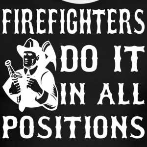 Firefighters Do It In All Positions - Men's Ringer T-Shirt