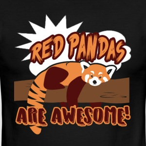 RED PANDAS ARE AWESOME SHIRT - Men's Ringer T-Shirt