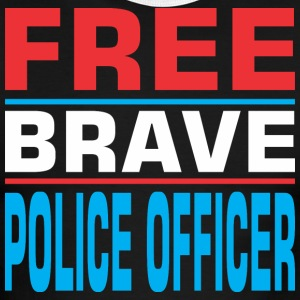 Free Brave Police Officer - Men's Ringer T-Shirt