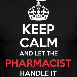 Keep Calm And Let Pharmacist Handle It - Men's Ringer T-Shirt