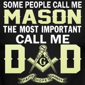 I m a MASON and a DAD - Men's Ringer T-Shirt