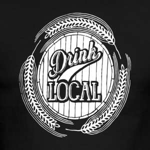 Drink Local - Men's Ringer T-Shirt