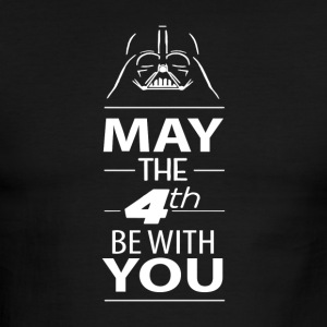 May The Force Be With You - Men's Ringer T-Shirt
