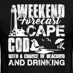 Cape Cod Weekend Forecast Shirts - Men's Ringer T-Shirt