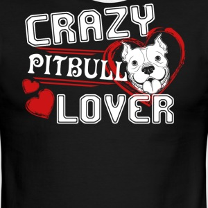 Pitbull Lover Shirt - Men's Ringer T-Shirt