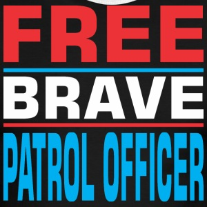 Free Brave Patrol Officer - Men's Ringer T-Shirt