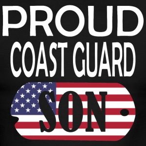 Proud Coast Guard Son - Men's Ringer T-Shirt