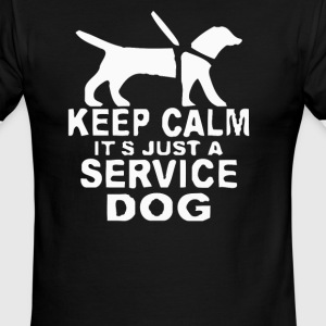 Service dog Short Sleeve - Men's Ringer T-Shirt