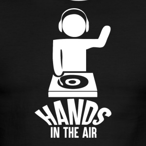 Hands in the Air - Men's Ringer T-Shirt
