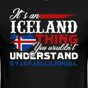 ICELAND THING SHIRT - Men's Ringer T-Shirt