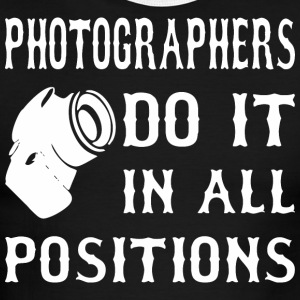 Photographers Do It In All Positions - Men's Ringer T-Shirt
