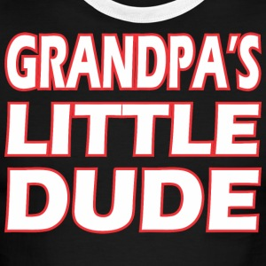 Grandpas Little Dudes - Men's Ringer T-Shirt