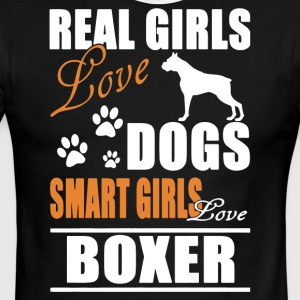 Smart Girls Love Boxer Shirt - Men's Ringer T-Shirt