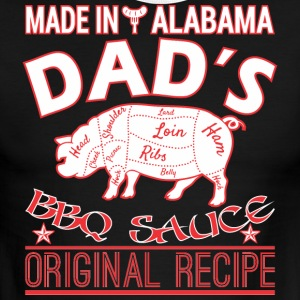 Made In Alabama Dads BBQ Sauce Original Recipe - Men's Ringer T-Shirt