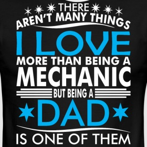 There Arent Many Things Love Being Mechanic Dad - Men's Ringer T-Shirt