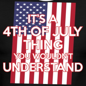 Its A 4th Of July Thing You Wouldnt Understand - Men's Ringer T-Shirt