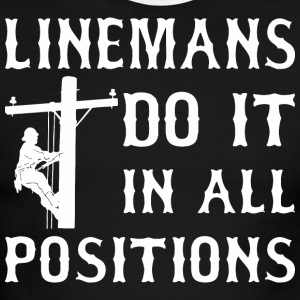 Linemans Do It In All Positions - Men's Ringer T-Shirt