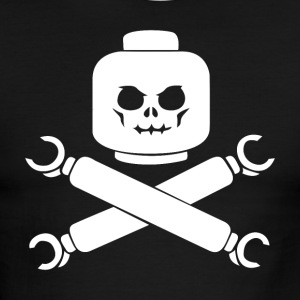Plastic Block Pirates - Men's Ringer T-Shirt