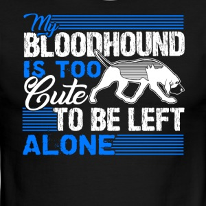 BLOODHOUND IS TOO CUTE SHIRT - Men's Ringer T-Shirt