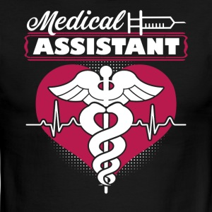 MEDICAL ASSISTANT SHIRT - Men's Ringer T-Shirt